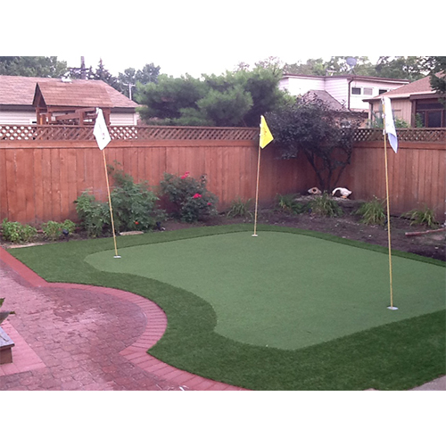 Artificial turf project completed- Backyard