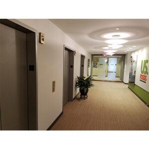 US Foods remodeled hallway