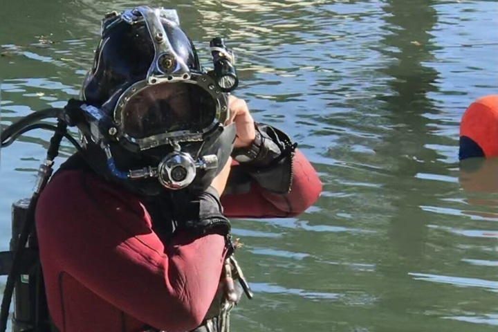 Diver, Homosassa River Restoration Project