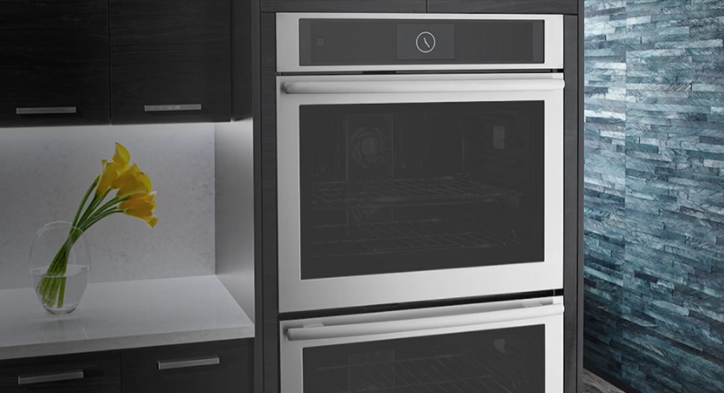 Jenn-Air's remote-controlled wall oven allows you to connect with it from wherever you are.