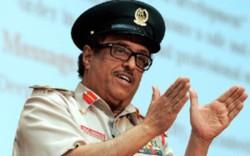 سپهبد ضاحی خلفان تمیم، رئیس نیروهای امنیت ملّی امیرنشین دوبی