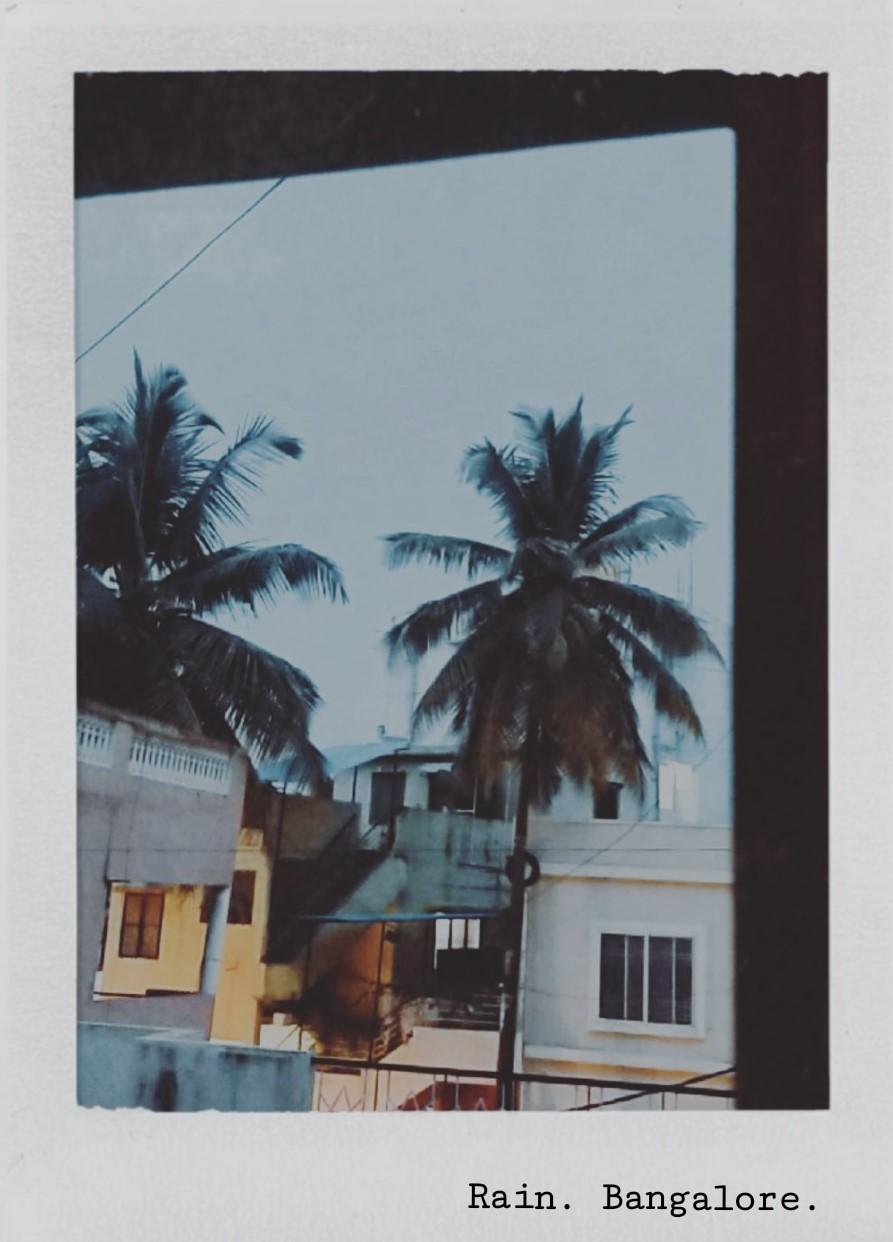Sunday Evening when it rains