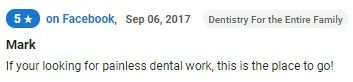 Painless dental work!
