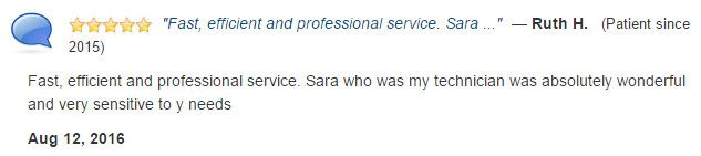 Fast, efficient, and professional. Sara was absolutely wonderful and very sensitive to my needs.