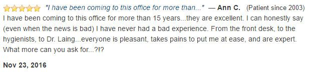 A patient for 15+ years, they are excellent! Even when the news is bad, I have never had a bad experience.
