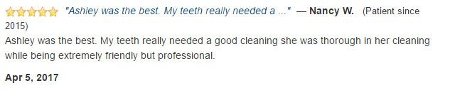 Ashley was the best. She was thorough in her cleaning while being extremely friendly but professional.