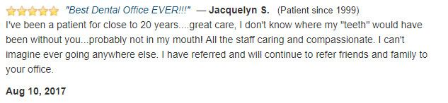 Patient for 20 years, great care! All the staff is caring and compassionate.