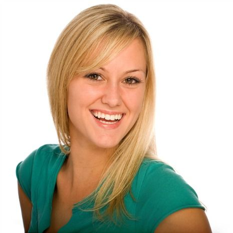 Enhance the appearance of front teeth