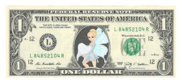 Tooth Fairy Dollar Bills