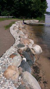 After: shoreline preservation