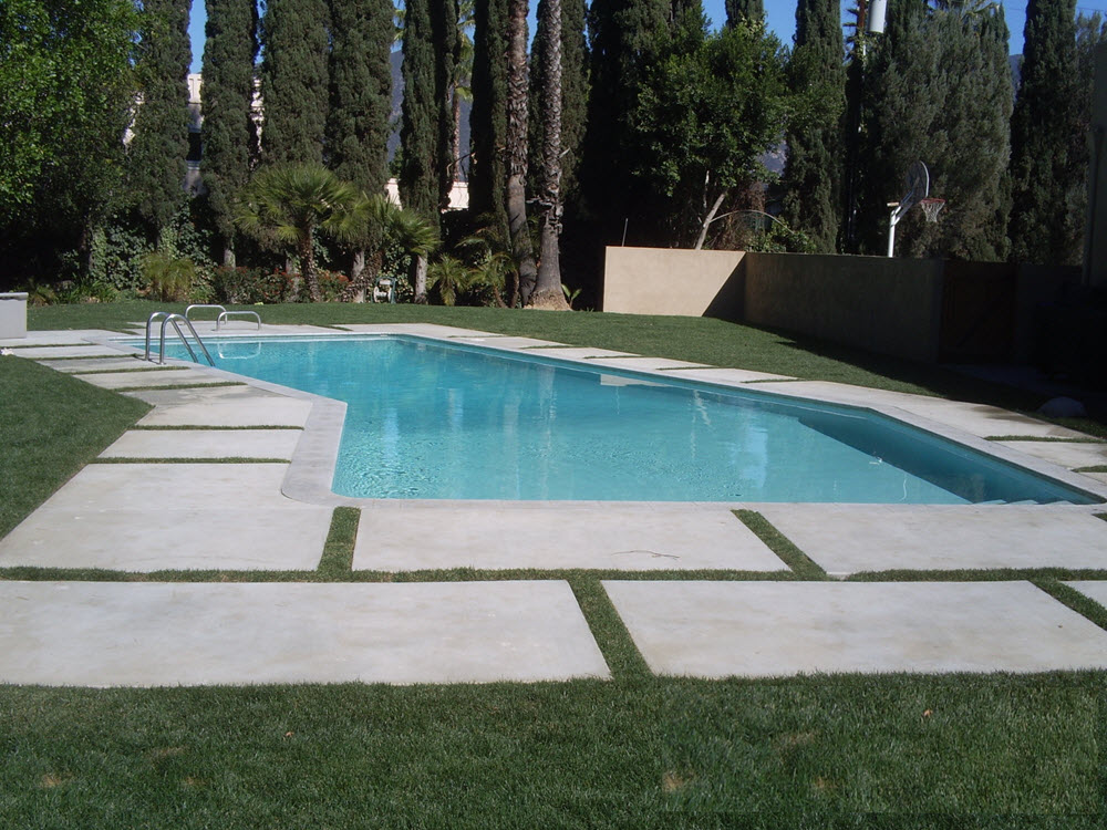 Beverly Hills-Eds Landscaping Pool Design Project