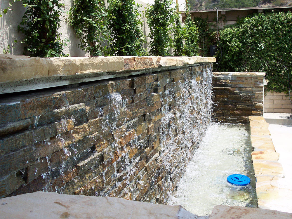 Glendale Project Waterfall-Pool