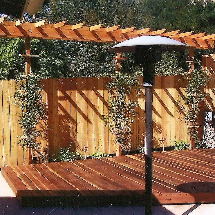 Ed's Landscaping Fence and Deck Project in Glendale CA