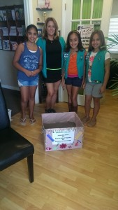 Girl scouts troop 1263