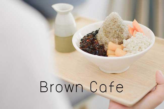 รีวิว Brown Cafe เชียงใหม่