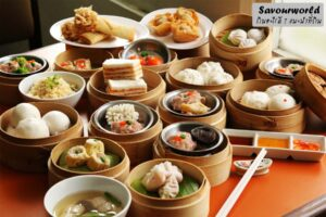 ติ่มซำ อาหารรับประทานเล่นของจีน ที่กินแล้วต้องติดใจ!