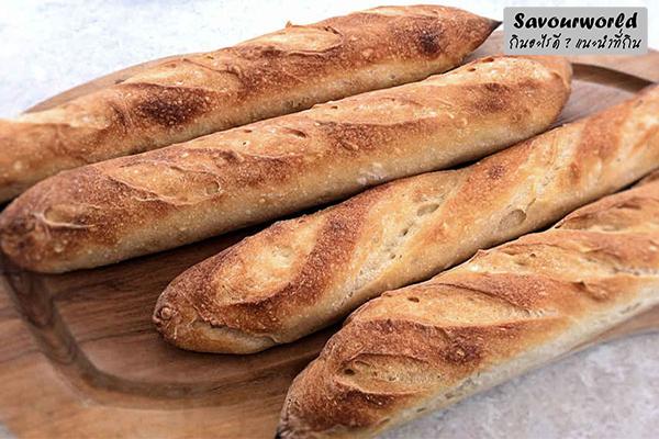 ขนมปังฝรั่งเศสความอร่อยที่ควรลิ้มลอง กินอะไรดี เมนูอาหาร ร้านอาหารอร่อย Nightlife รีวิวคาเฟ่ ร้านอาหาร-คาเฟ่ ที่กิน-ที่พัก แนะนำร้านอาหาร อาหาร-สุขภาพ savourworld.com ขนมปังฝรั่งเศส