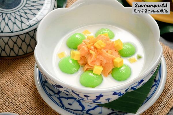 """อร่อยกับขนม """"บัวลอย"""" อย่าลืมที่จะตามหาที่มาทาน กินอะไรดี เมนูอาหาร ร้านอาหารอร่อย Nightlife รีวิวคาเฟ่ ร้านอาหาร-คาเฟ่ ที่กิน-ที่พัก แนะนำร้านอาหาร อาหาร-สุขภาพ savourworld.com บัวลอย"""