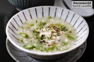 ซุปเนื้อปูกับหน่อไม้ฝรั่งความสมดุลที่ลงตัว