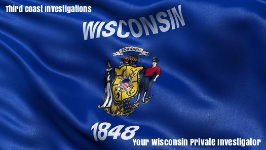Wisconsin State Flag, Your Wisconsin Private Investigator