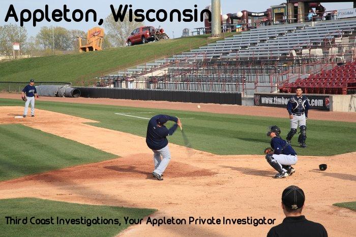 Baseball team in Appleton area, Third Coast Investigations is your Appleton Private Investigator