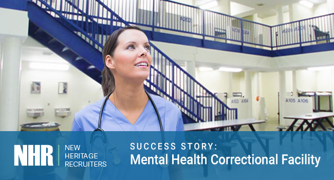 Doctor. Success Story: Mental Health Correctional Facility