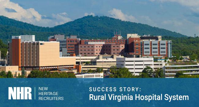 Medical Center. Success Story: Rural Virginia Hospital System