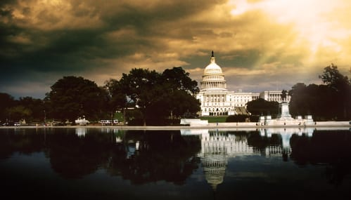 The Capitol Builting in Washington D.C. USA