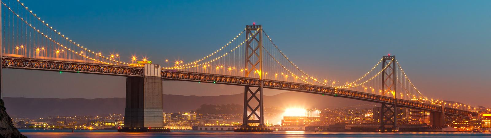 Photo of a Bay Area Bridge