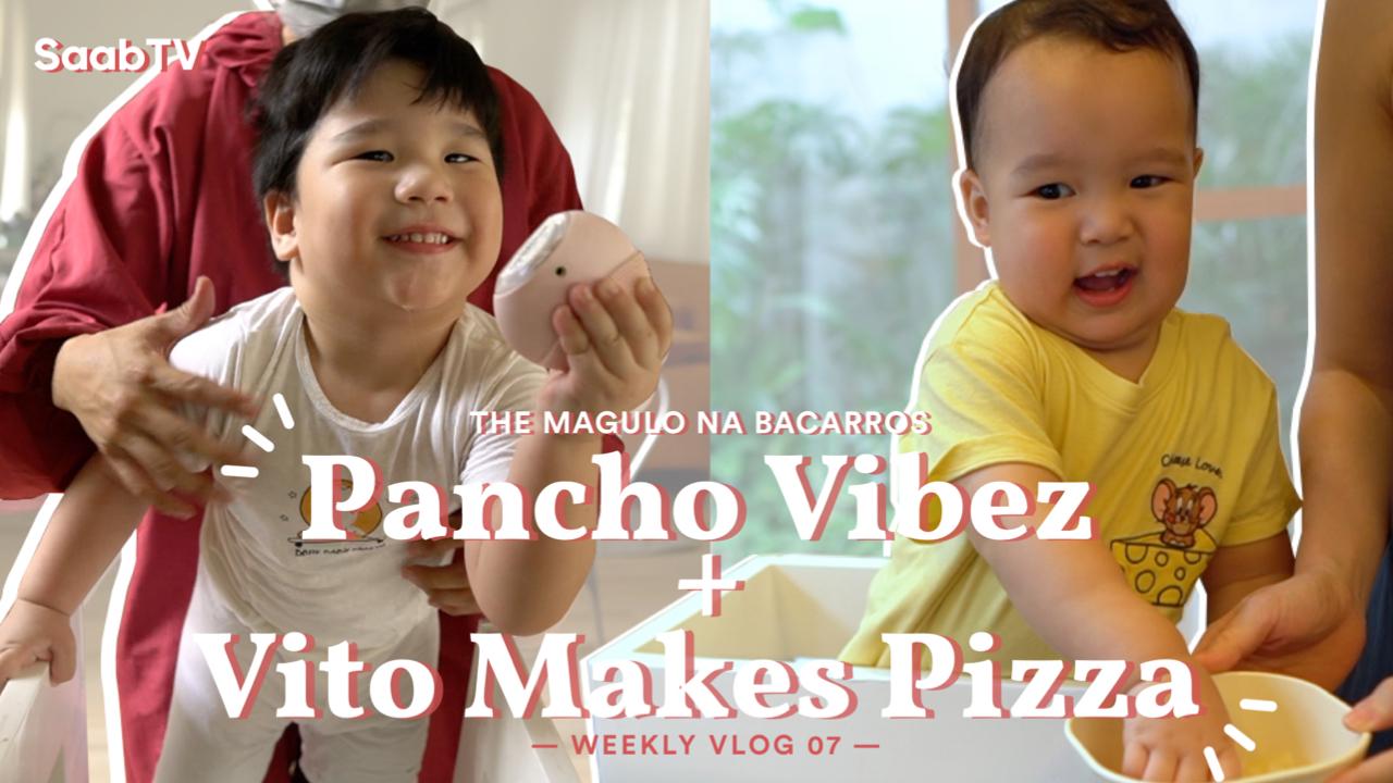 Pancho Vibez + Vito Makes Pizza