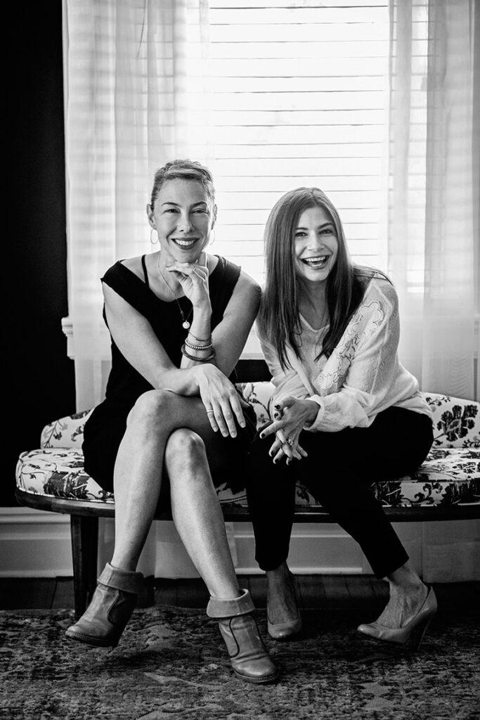 Lisa Danbrot and Carla Labianca