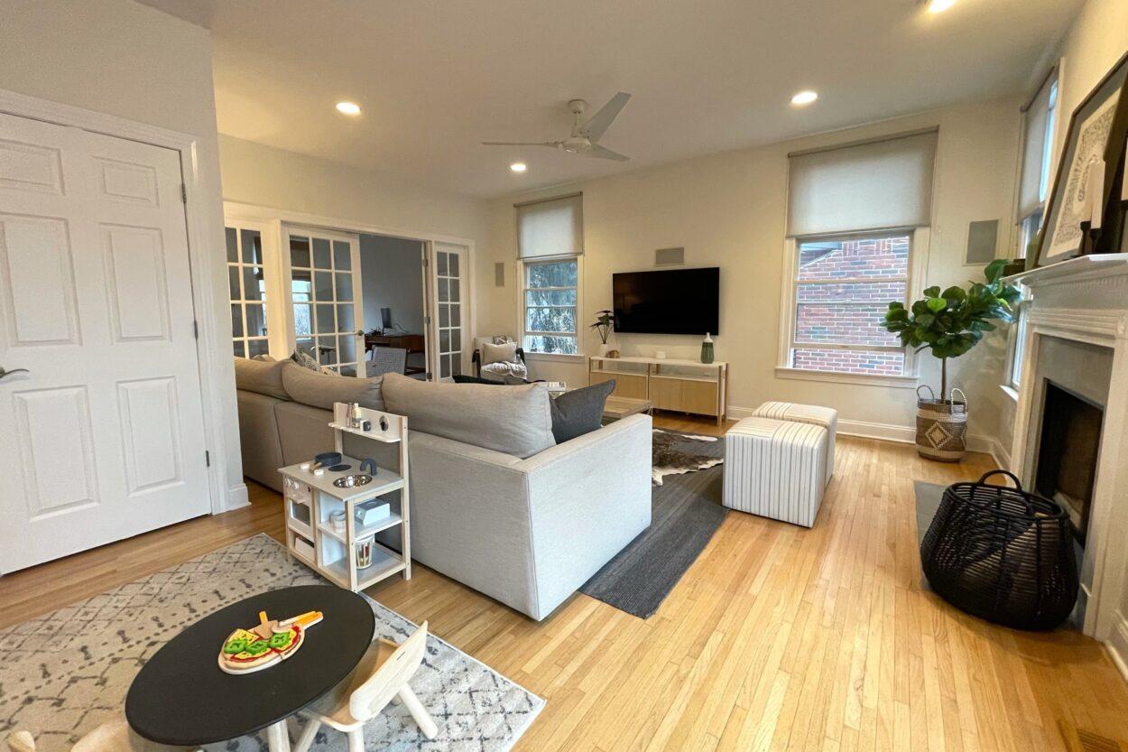 655 Ridgewood Road Maplewood New Jersey living room