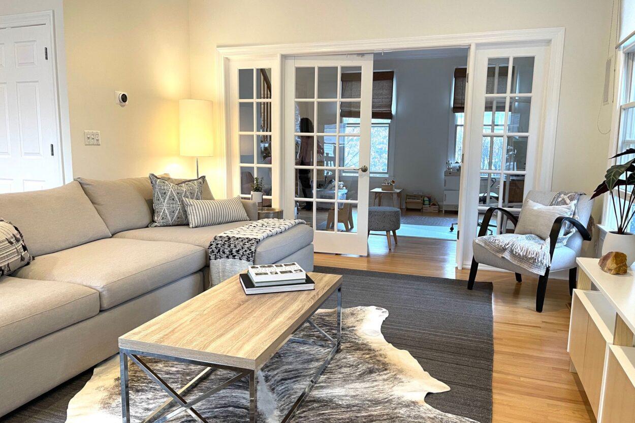 655 Ridgewood Road Maplewood New Jersey first floor interior view