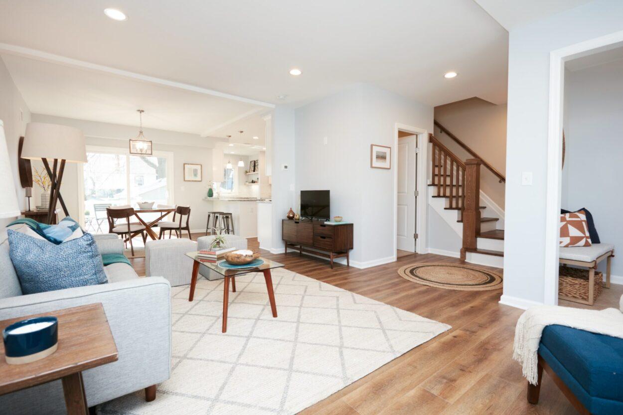 40 Hughes St. Maplewood NJ living room