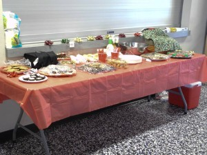 2014 Christmas Party Table