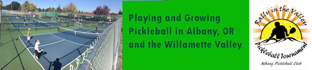 Albany Oregon Pickleball