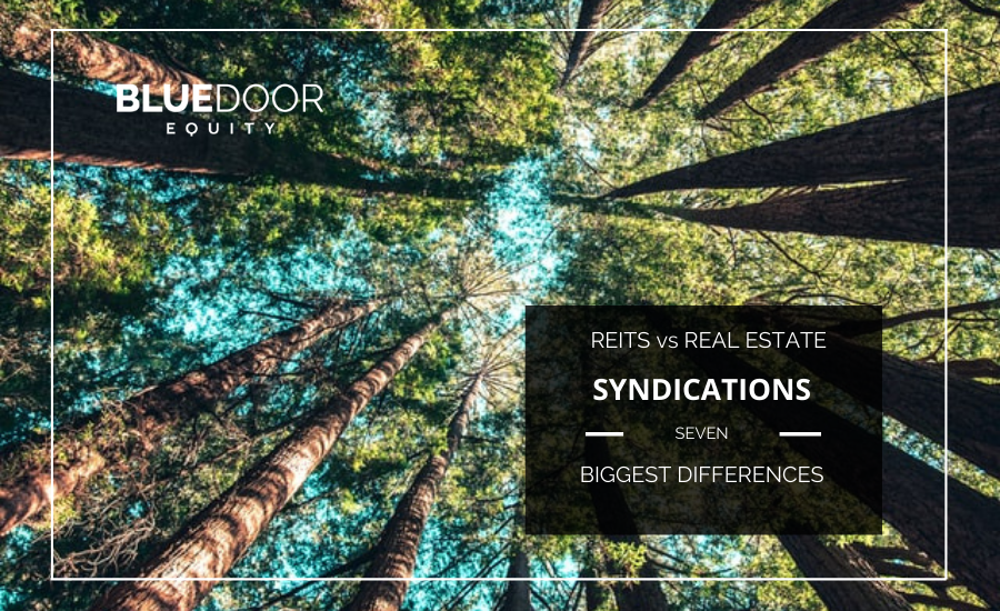 REITS vs. Real Estate Syndications.  7 Biggest Differences.