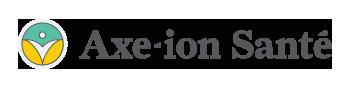 Axe-ion Sante horizontal Logo Dark