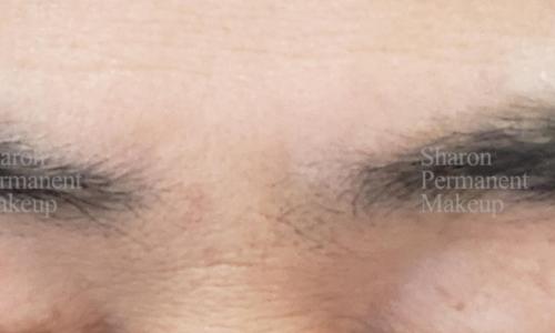 4-man-eyebrow-before