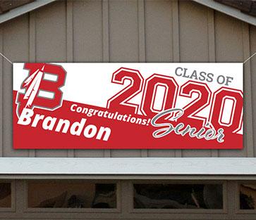 Bountiful High School Graduation Banner