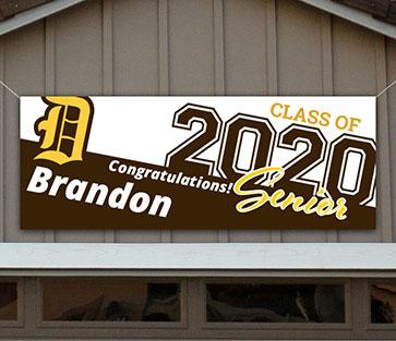 Davis High School Graduation Banner