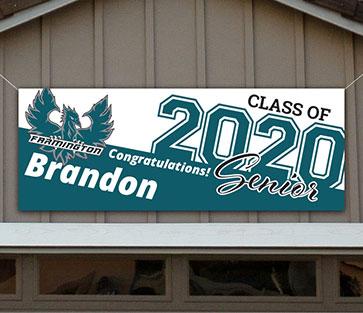 Farmington High School Graduation Banner