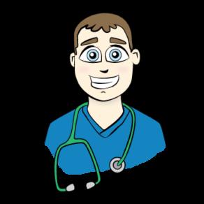Male Nurse Vector