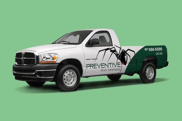 preventive pest control truck 900