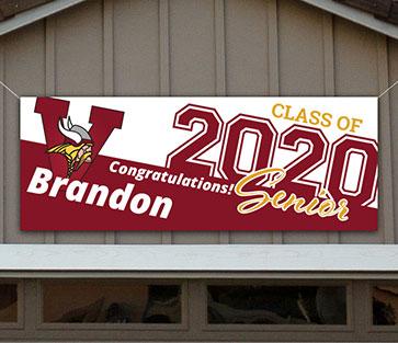 Viewmont High School Graduation Banner