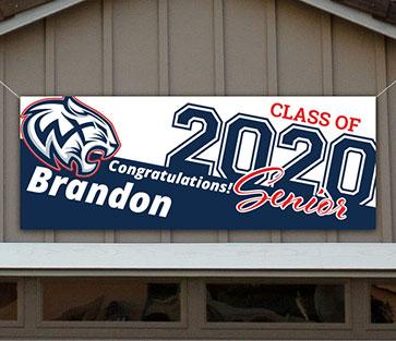 Woods Cross High School Graduation Banner