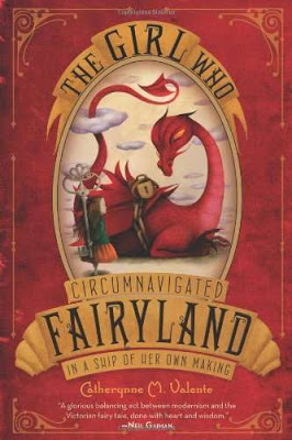 The Girl Who Circumnavigated Fairyland… (by Catherynne M. Valente)