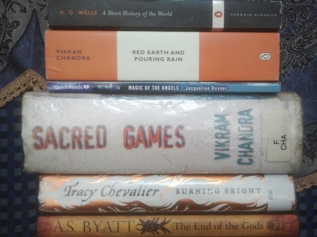 A Short History of the World – A Book Spine Poem