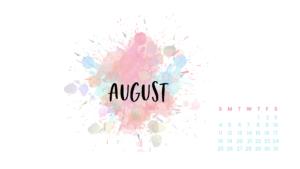 august computer calendar