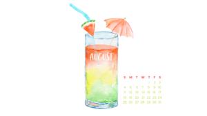 august desktop background